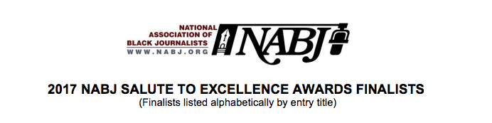 NABJ First Place Award