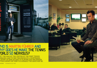 Why Does Martin Fuhrer Make The Tennis World So Nervous?