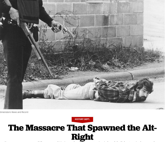 Politico: The Massacre That Spawned The Alt.Right