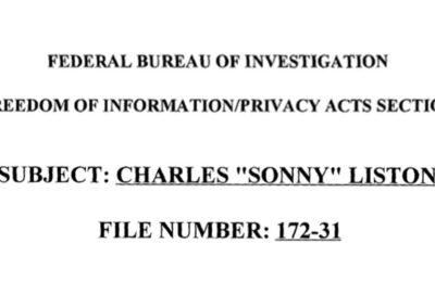 FBI File #172-31