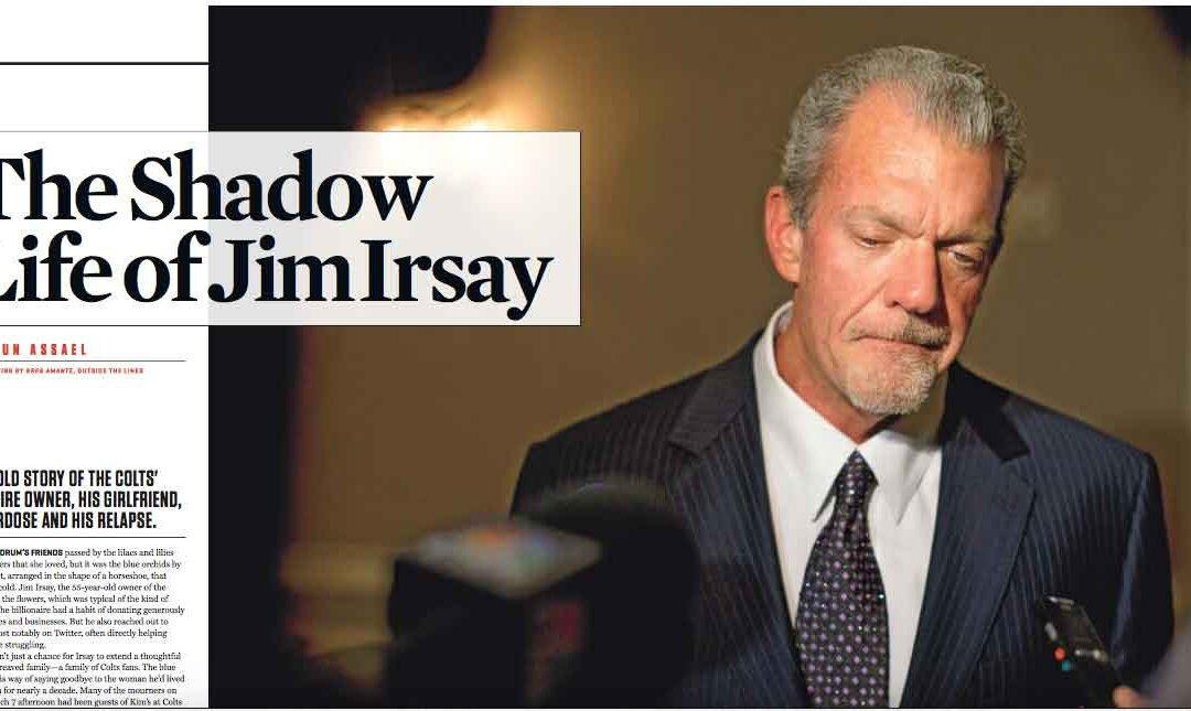The Shadow Life of Jim Irsay