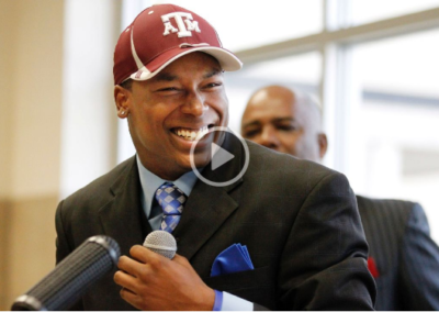Questions surround ex-Texas A&M receiver, who stands accused of murder